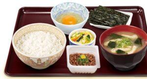 すき家「納豆定食」