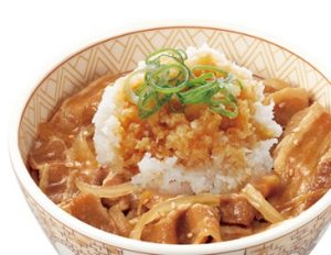 すき家「おろしポン酢豚丼」
