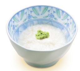 すき家朝定食サイドメニュー「山かけ(わさび付)」