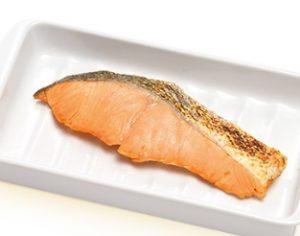 すき家朝定食サイドメニュー「鮭」