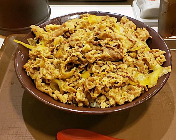 すき家キングサイズ牛丼