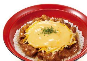 すき家「チーズ牛カルビ丼」